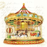 Servetel decorativ 'Carousel', 33cm