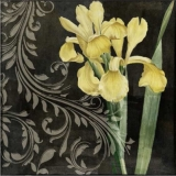Servetel decorativ 'Baroque Iris', 33cm