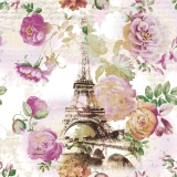Servetel decorativ 'Tour Eiffel', 33cm