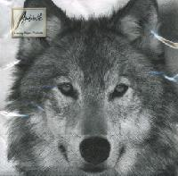 Servetel decorativ 'Wolf', 33cm