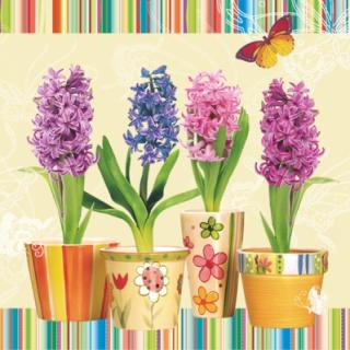 Servetel decorativ 'Hyacinth', 33cm
