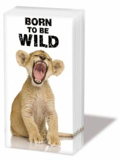 Batista decorativa 'Born to be wild', 10cm