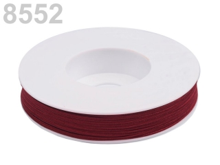 Snur suitas, cul.bordo, 3mm